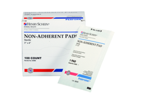 """Sterile Non-Stick Gauze Pads, Individually Wrapped 3"""" x 4"""""""