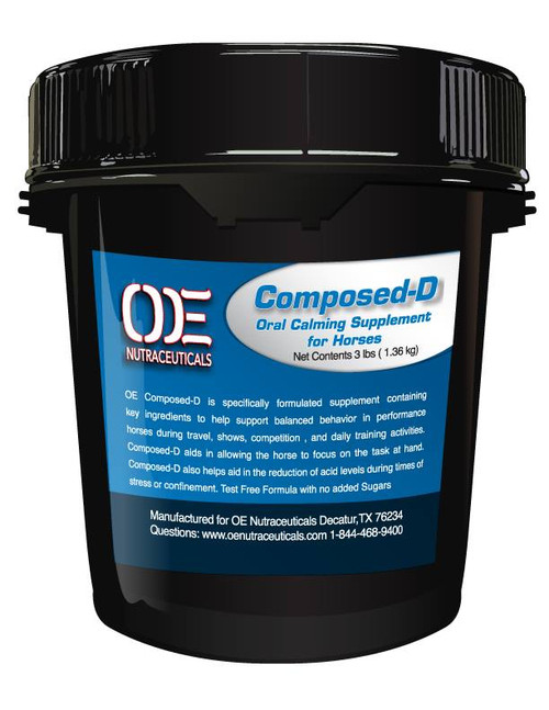OE Composed-D - Daily Calming Supplement & Gastric Support
