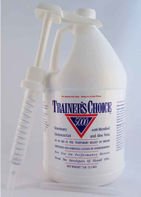 Trainer's Choice 5000 Veterinary Liniment Gel 7lb