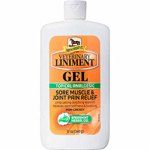 Absorbine Liniment Gel 12 oz.