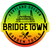 "Bridgetown 3"" Circle Die Cut Sticker - Rasta Fade"