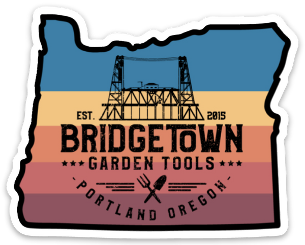 "Bridgetown 3"" Die Cut Sticker - Oregon"