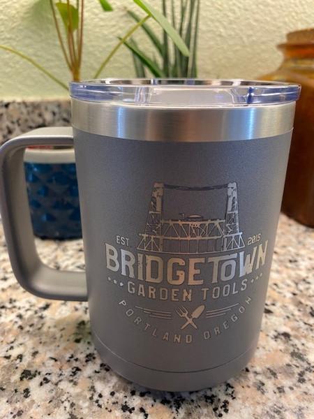 15 oz. Vacuum Insulated Coffee Mug - Grey