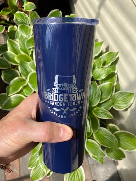20 oz. Vacuum Insulated Skinny Tumbler -Glossy  Navy