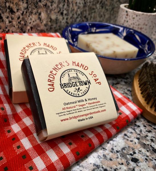 Gardener's Hand Soap - Oatmeal Milk & Honey