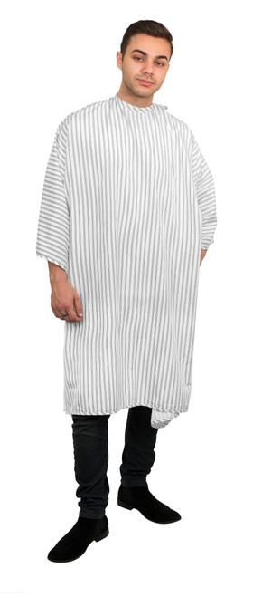 Barbers Big Daddy Cool Cape - White