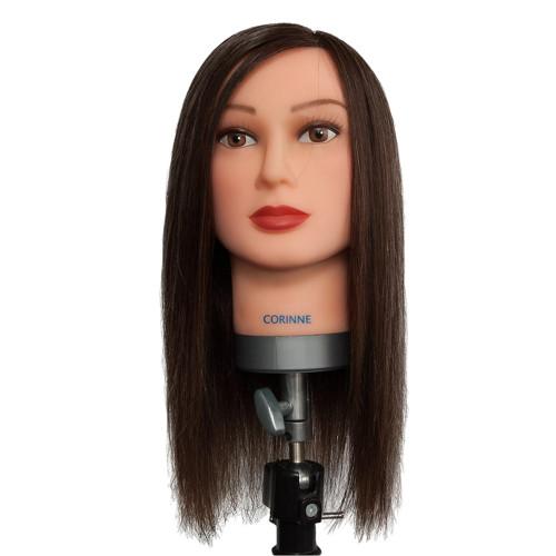 Dateline Professional Mannequin Medium Chinese Hair Brown - Corinne