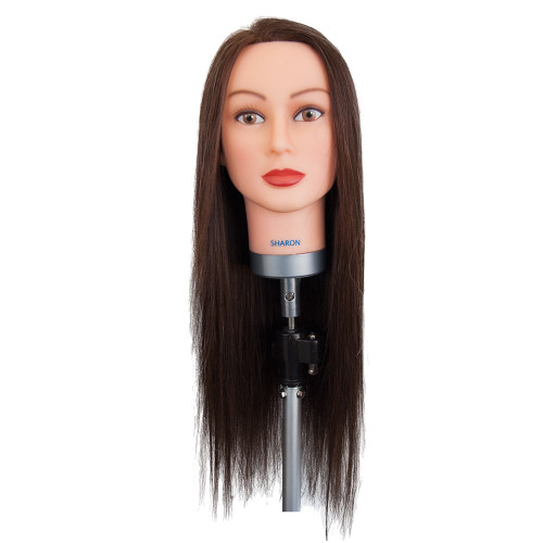 Dateline Professional Mannequin Extra Long Indian Hair Brown - Sharon