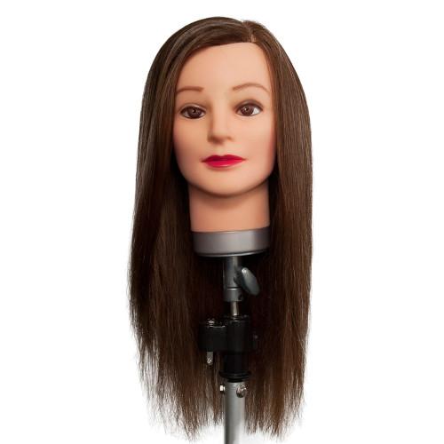 Dateline Professional Mannequin Long Half Protein/Half Human Brown - Amanda