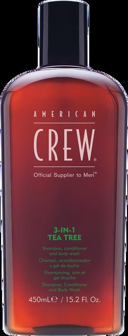 American Crew 3 in 1 Tea Tree - 450ml