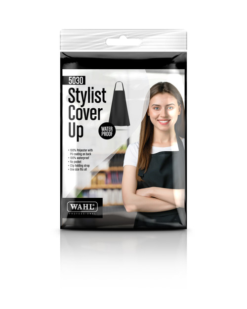 Wahl Polyester Apron with Strap - Black