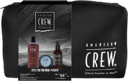 American Crew Style For The Road Fiber Trio