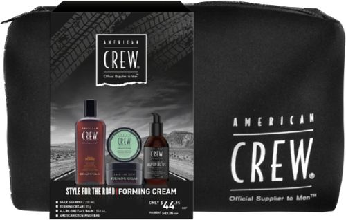 American Crew Style For The Road Forming Cream Trio