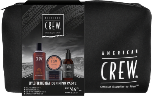 American Crew Style For The Road Defining Paste Trio