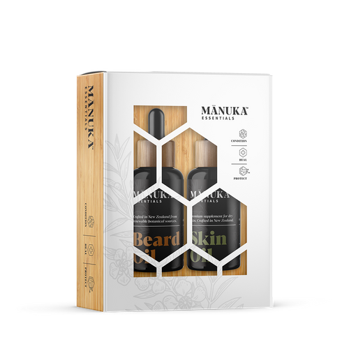 Manuka Essentials Gift Pack Duo - Beard Oil/Skin Oil