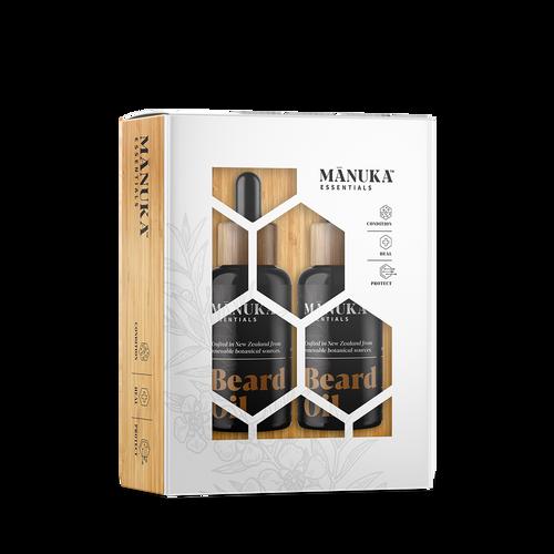 Manuka Essentials Gift Pack Duo - Beard Oil Twin