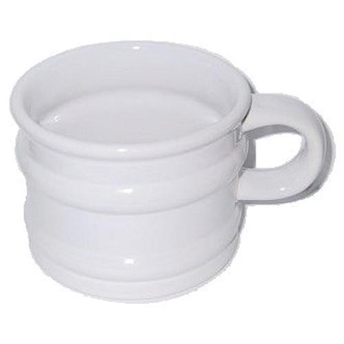 Comoy JO-03 Open Shave Mug #1 White