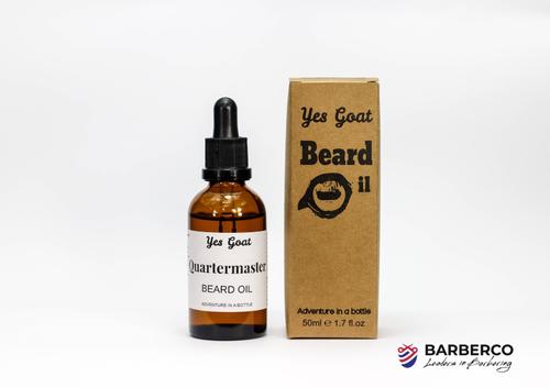 Yes Goat Beard Oil-Quartermaster-50ml