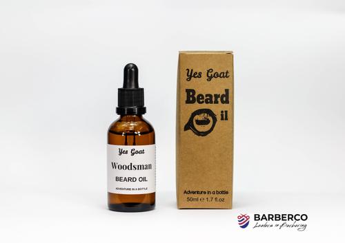 Yes Goat Beard Oil-Woodsman-50ml