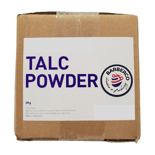Talc Powder Bulk - 2kg - White Rose