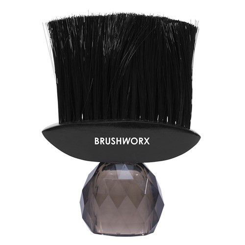 Silver Bullet Nylon Bristle Neck Brush - Black Gem Handle