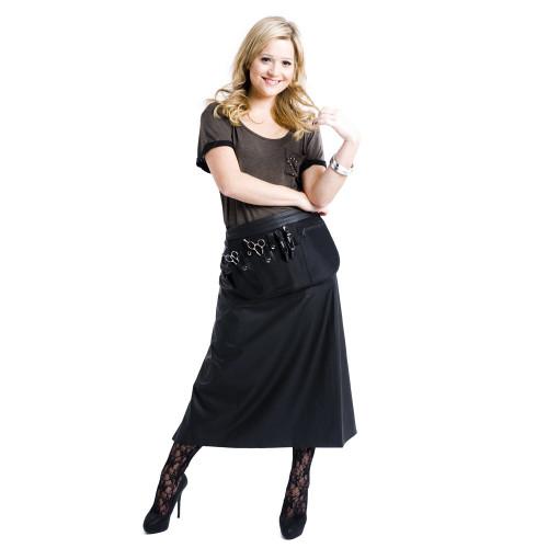 Comfy Fit Protective Waist Apron - Black