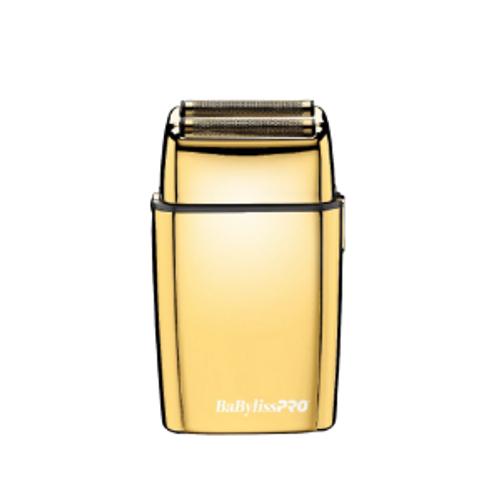 BaBylissPRO Foil FX02 Double Foil Shaver - Gold