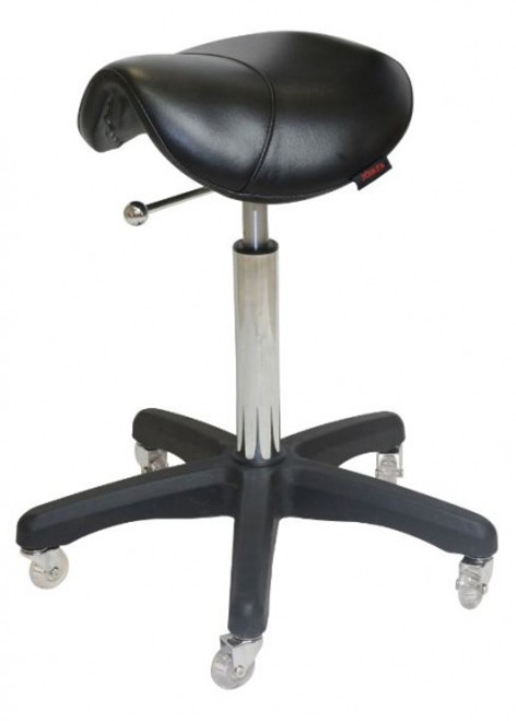 Saddle - No Back All Black - (Black Upholstery)