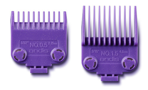 ANDIS Magnetic Comb Set for Master #0.5 & #1.5 - 2pcs
