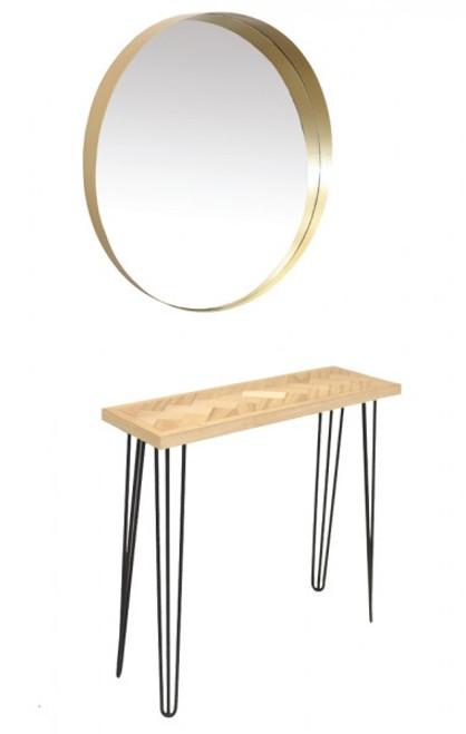Nash Styling Station Bench & Mirror