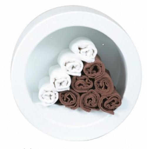 Tub Towel Rack - White