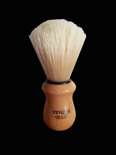 Zenith Shaving Brush Natural Timber