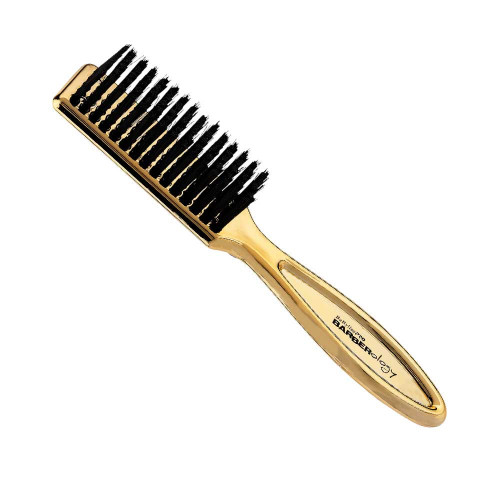 BaBylissPRO Barberology Fades And Blades Cleaning Brush Gold