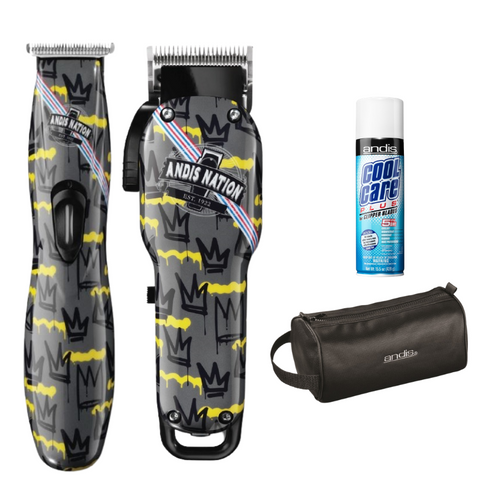ANDIS  Combo - Fade Nation Clipper & D8 Trimmer