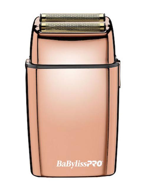 BaBylissPRO Foil FX02 Double Foil Shaver - Rose Gold
