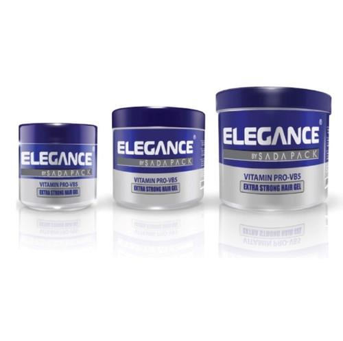 Elegance Vb5 Extra Strong Hair Gel - 250ml & 500ml & 1kg.