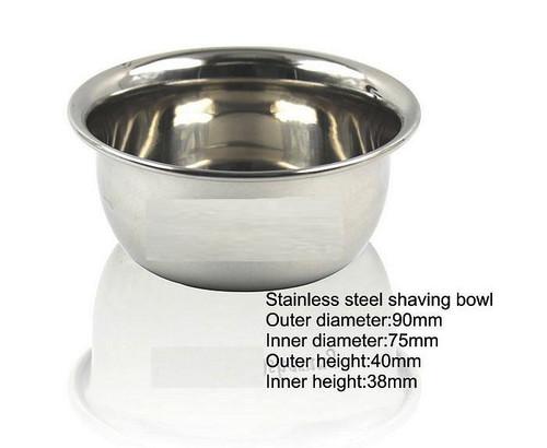 Stainless Shaving Bowl
