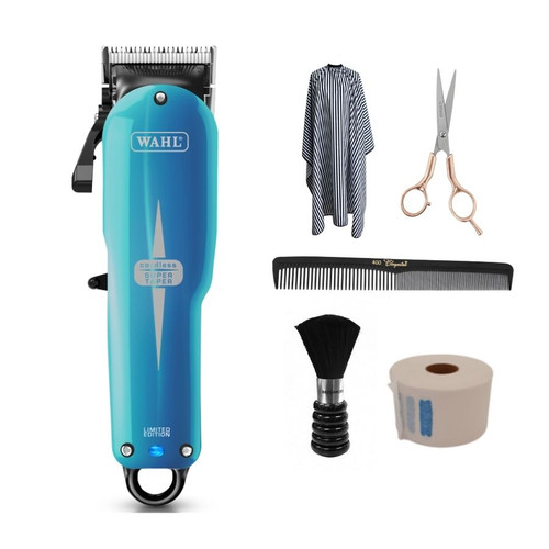 Wahl Cordless Super Taper Hair Cutting Kit - Pacific Blue