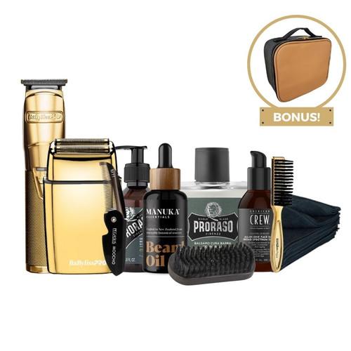 BarberCo Premium Men's Beard & Grooming Kit