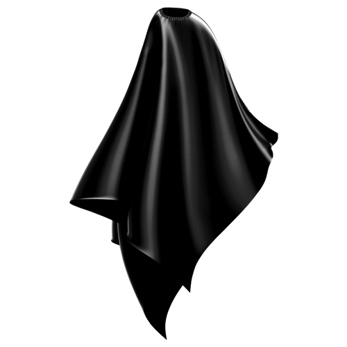 Wahl Polyester Cape Black