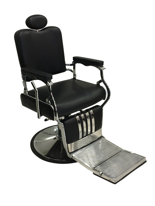 Brooklyn Barbers Chair-black upholstery