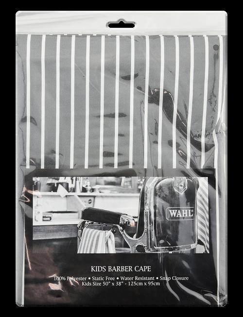 Wahl Kids Pin Stripe Cape-Grey