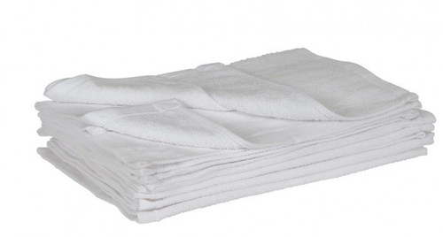 White neck towel