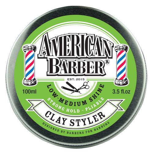 American Barber Clay Styler 100ml