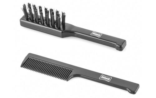 Proraso Moustache Brush & Comb Set - ref 400258