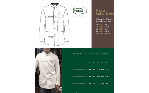 Proraso Barber Jacket S - ref 400263
