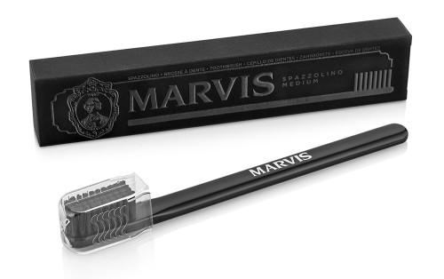 Marvis Tooth Brush Medium Bristle  Black - ref 411067