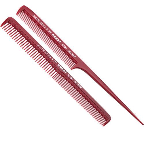 Krest Goldilocks Cutting Comb & Tail Comb Pack #4 & 5