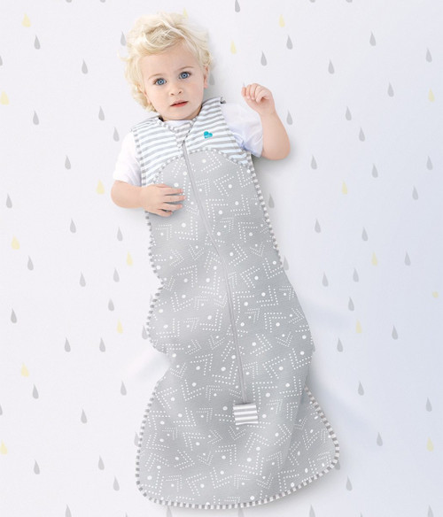 LOVE TO DREAM SLEEP BAG™ 0.2 TOG Gray Dots