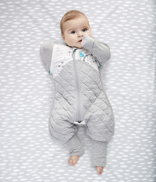 SWADDLE UP™ TRANSITION SUIT Warm 2.5 TOG White